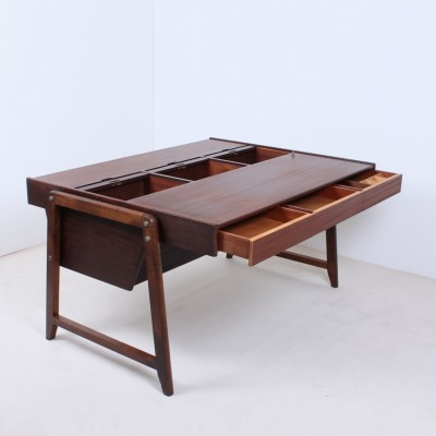 Executive writing desk from the fifties by J. Clausen & Clausen & Maerus for Eden