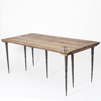 Dining table from the eighties by Katrin Arens for unknown producer
