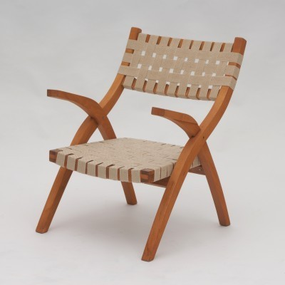 4 arm chairs from the fifties by unknown designer for unknown producer