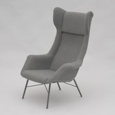 Set of 2 arm chairs from the sixties by Miroslav Navrátil for Ton