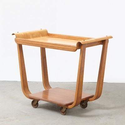 PB01 serving trolley by Cees Braakman for Pastoe, 1950s