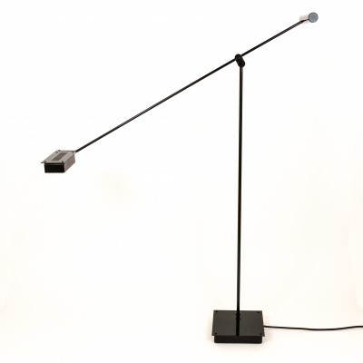 Black Samurai Floor Lamp by Shigeaki Asahara for Stilnovo, 1970s