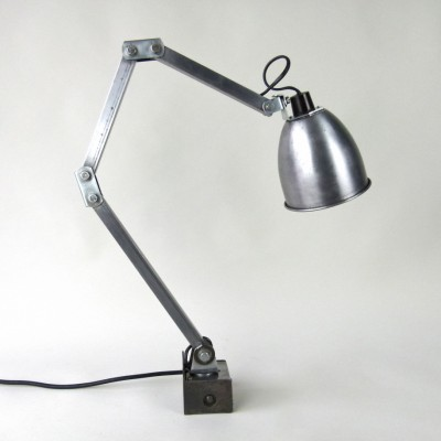 Wall of desk mount wall lamp from the fifties by unknown designer for Memlite