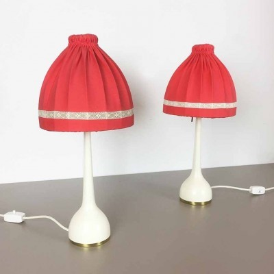 Set of 2 desk lamps from the sixties by Hans Agne Jakobsson for Hans Agne Jakobsson