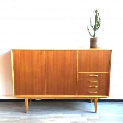 Highboard sideboard from the sixties by unknown designer for unknown producer