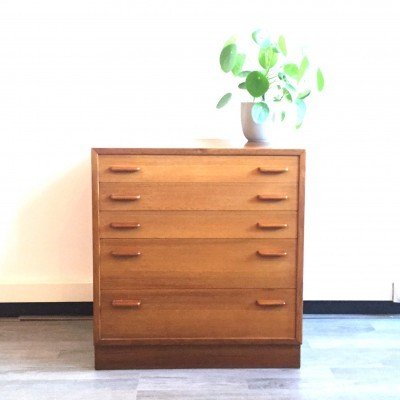 Chest of drawers by unknown designer for unknown producer