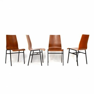 99 dinner chairs from the sixties by unknown designer for unknown producer