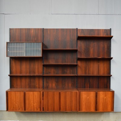 Wall unit from the fifties by Kai Kristiansen for FM Mobel