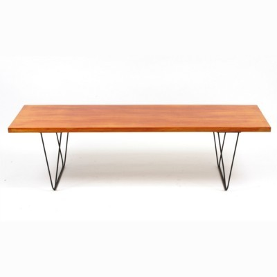 CM191 coffee table from the fifties by Pierre Paulin for Thonet
