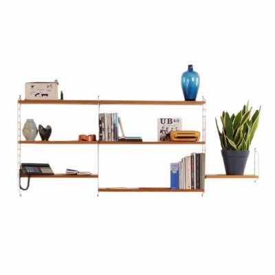 Wall unit from the forties by Nisse Strinning for String Design AB