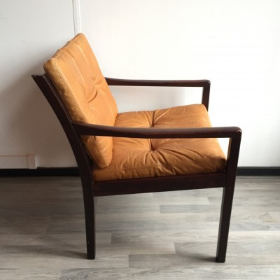 Lounge chair from the sixties by unknown designer for J M Birking & Co Copenhagen