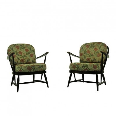 2 lounge chairs from the sixties by Lucian Randolph Ercolani for Ercol