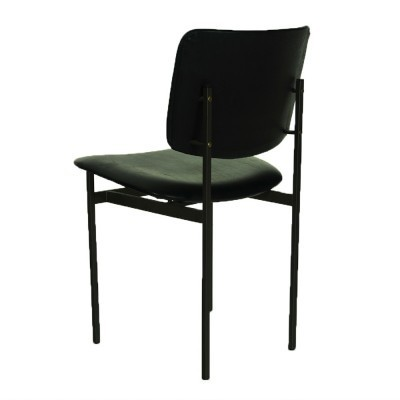 Set of 5 dinner chairs by unknown designer for unknown producer