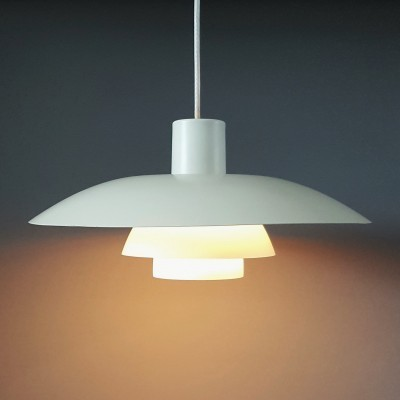 2 PH 4/3 hanging lamps from the sixties by Poul Henningsen for Louis Poulsen