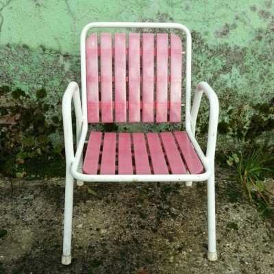 Garden Chair children furniture from the fifties by unknown designer for unknown producer