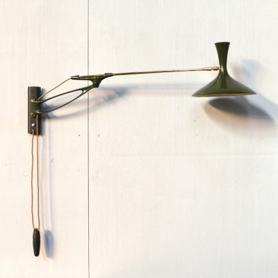 Wall lamp from the fifties by unknown designer for Cosack