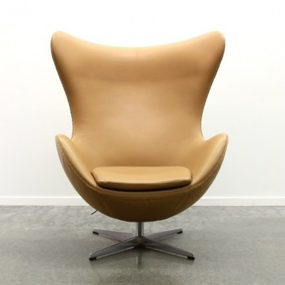 Egg lounge chair from the nineties by Arne Jacobsen for Fritz Hansen