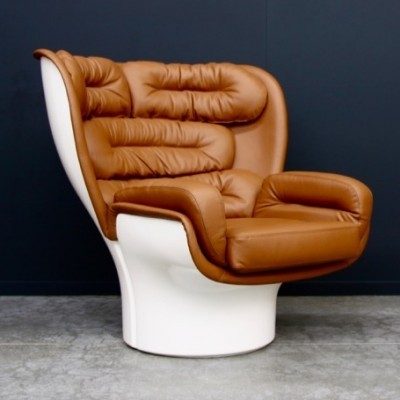 Elda lounge chair from the nineties by Joe Colombo for Longhi