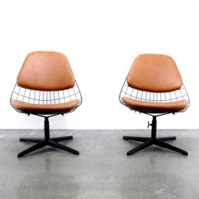 2 FM25 lounge chairs from the fifties by Cees Braakman for Pastoe