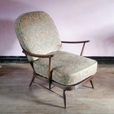 Fleur De Lys Low Chair lounge chair from the sixties by Lucian Randolph Ercolani for Ercol