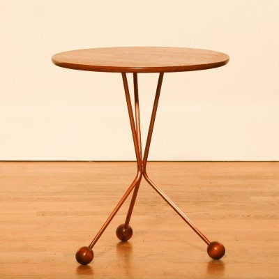 Alberts Bordet side table from the fifties by Albert Larsson for Tibro Sweden