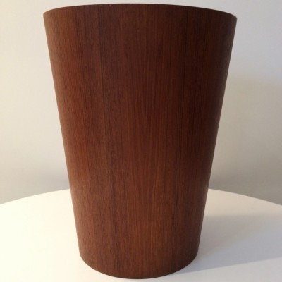 Teak Office Bin from the fifties by Martin Åberg for Servex