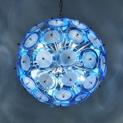 Hanging lamp from the seventies by unknown designer for unknown producer