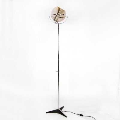 Globe floor lamp from the sixties by Frank Ligtelijn for Raak Amsterdam