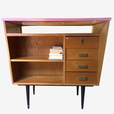 Show Case cabinet from the fifties by unknown designer for unknown producer