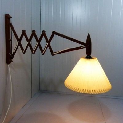 Harmonica wall lamp from the fifties by unknown designer for unknown producer