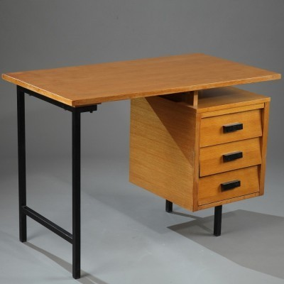 Série CM 172 writing desk from the fifties by Pierre Paulin for Thonet