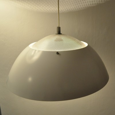 2 Safari hanging lamps from the seventies by Christian Hvidt & Peter Hvidt for Nordisk Solar