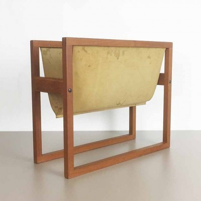 Magazine holder from the sixties by Kai Kristiansen for SIKA