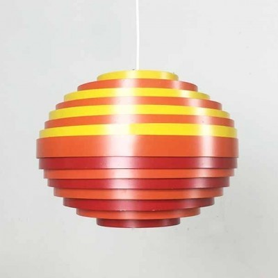 Hanging lamp from the sixties by unknown designer for Vest Leuchten