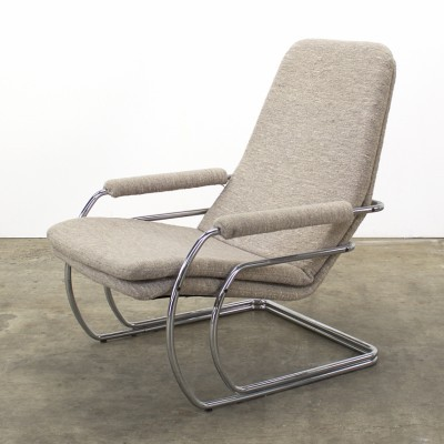 Lounge chair from the seventies by Jan des Bouvrie for Gelderland