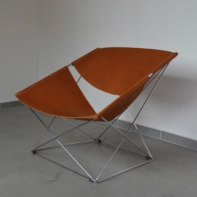 F675 - Butterfly lounge chair from the sixties by Pierre Paulin for Artifort