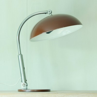2 x desk lamp by H. Busquet for Hala Zeist, 1950s