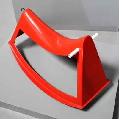 Schaukelplastik Rocking chair by Walter Papst for Wilkhahn, 1950s