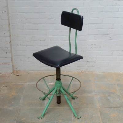 2 office chairs from the sixties by unknown designer for Rába