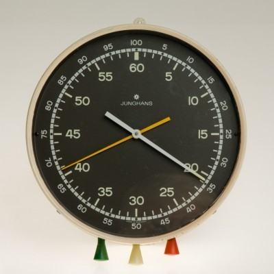 Clock from the sixties by unknown designer for Junghans