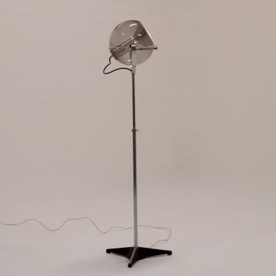 Globe 2000 floor lamp from the sixties by Frank Ligtelijn for Raak Amsterdam
