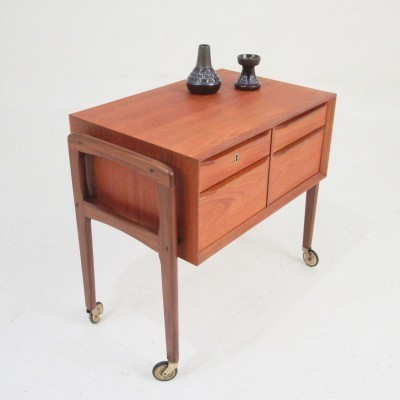 Sewing Table side table from the fifties by unknown designer for unknown producer