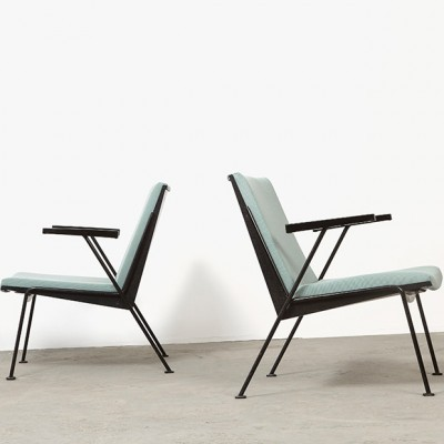 Set of 2 Oase lounge chairs from the fifties by Wim Rietveld for Ahrend de Cirkel