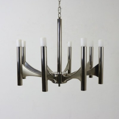 Hanging lamp from the sixties by Gaetano Sciolari for Sciolari
