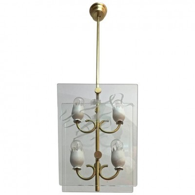 Hanging lamp from the forties by unknown designer for Fontana Arte