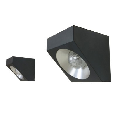Set of two modern cubist wall lights from the sixties by Raak Amsterdam