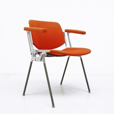 DSC 106 arm chair from the sixties by Giancarlo Piretti for Castelli