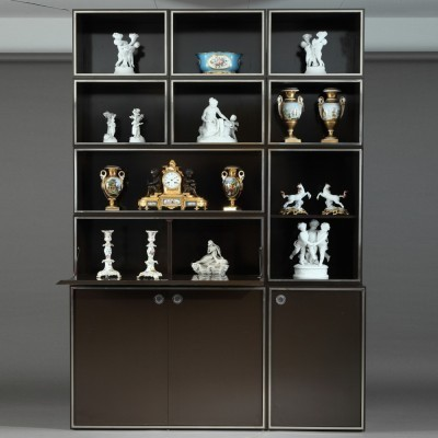 Wall unit from the seventies by unknown designer for unknown producer