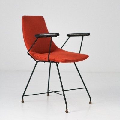 Aster arm chair by Augusto Bozzi for Fratelli Saporiti, 1950s