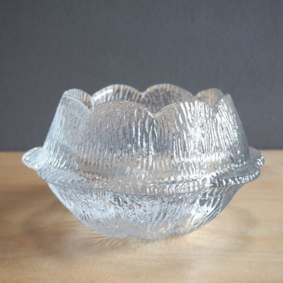 Glass Bowl by Sidse Werner for Holmegaard, 1980s